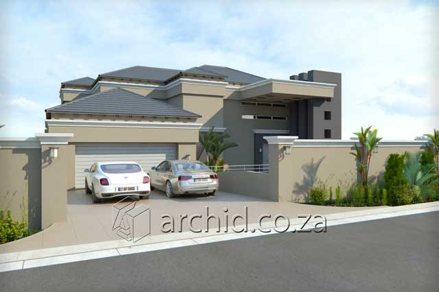 3 Bedroom House Plans South Africa – House Designs- Archid -02