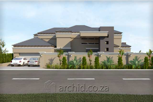 3 Bedroom House Plans South Africa – House Designs- Archid -04