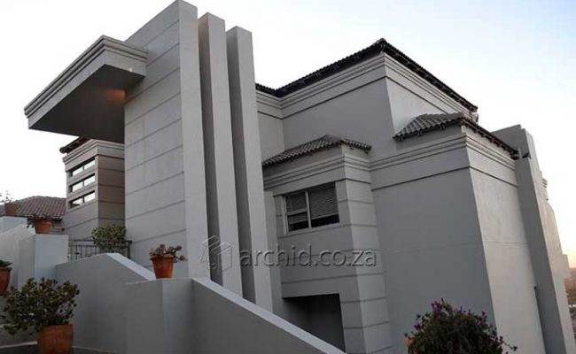 3 Bedroom house plans South Africa – Two storey House designs- Archid -04