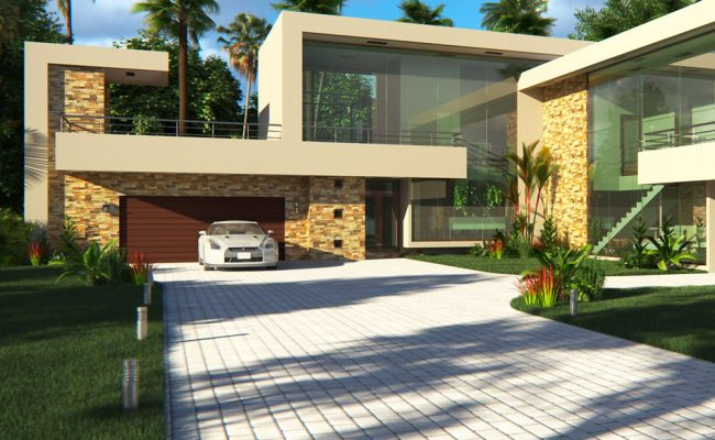 4 Bedroom House Plan | Modern Contemporary House Design ...