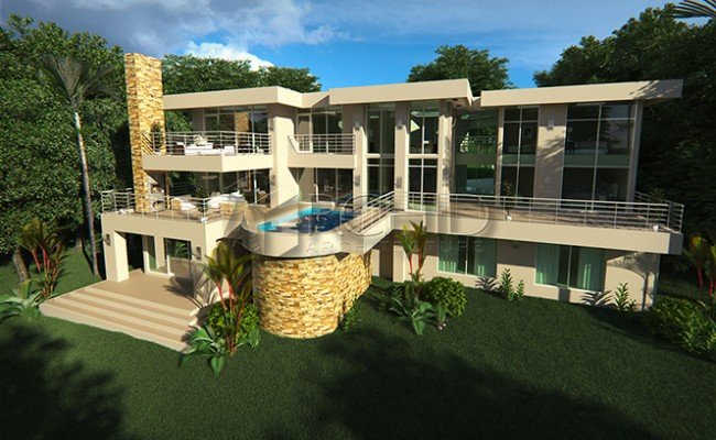 luxury house design 4 bedroom house plans Archid_architects_house plans__Gallery images_MN Estate1125