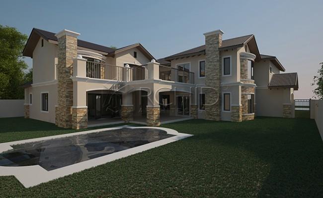 House plans south africa 5 bedroom house plan architects in gauteng Archid_architects_house plans__Gallery images_Peeblerock Estate1150