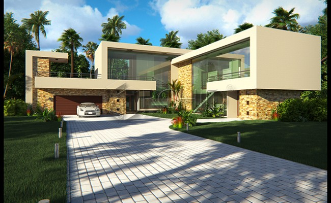 4 Bedroom modern house design Architects in Gauteng A Contemporary Architecture Charm