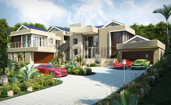 House Designs Archid_architects_house plans__Gallery images_Waterfall Estate1132