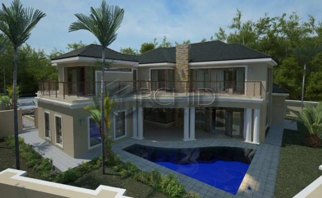 South African House Design by Archid Architects_Valley View 2