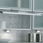 Glass insert kitchen cabinets, bathroom vanities