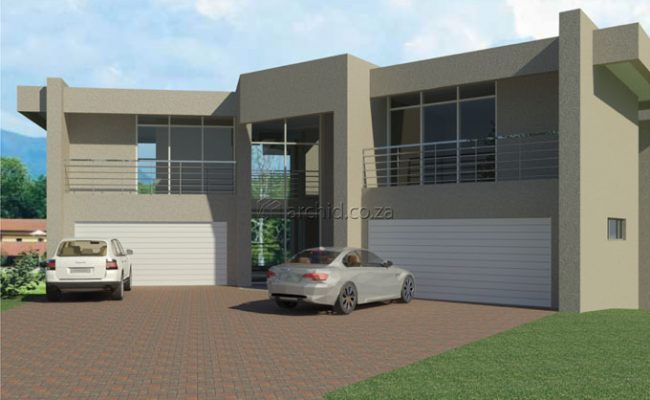 Luxury House Design Modern House Plans in South Africa 6 bedroom house plans_3 Storey House Design_Archid01