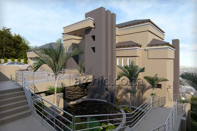 Modern Tuscan House Plans South Africa – Three Bedroom House Designs- Archid -11