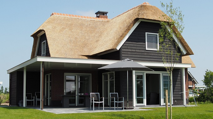 thatch roof, archid architects, home designs building plans construction