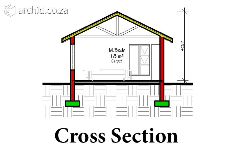How to read construction drawings cross section floor plan Archid