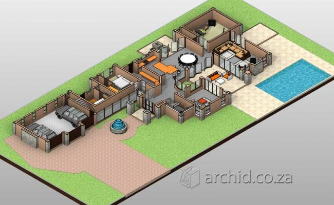 4 Bedroom House Plans South Africa – Architects in South Africa- Archid_74