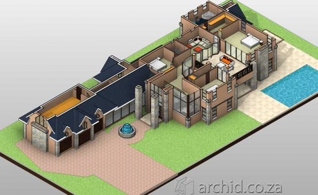 4 Bedroom House Plans South Africa – Architects in South Africa- Archid_75