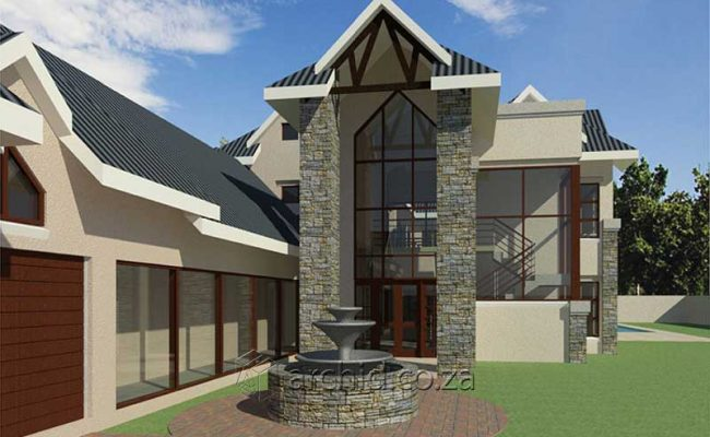 4 Bedroom House Plans South Africa – Architects in South Africa- Archid_76