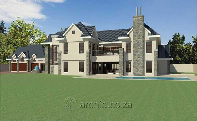 4 Bedroom House Plans South Africa – Architects in South Africa- Archid_77