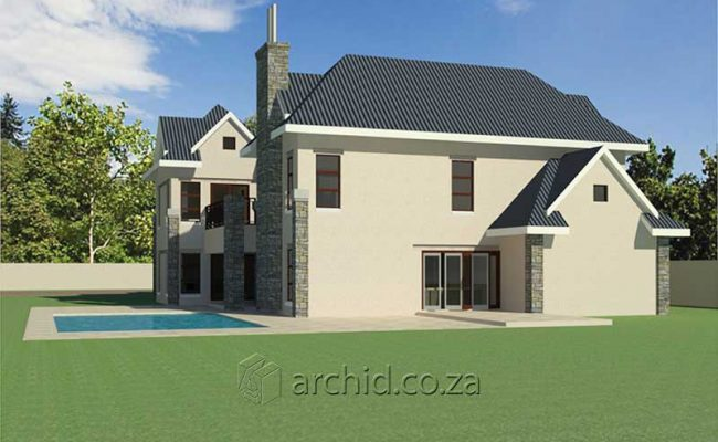 4 Bedroom House Plans South Africa – Architects in South Africa- Archid_78