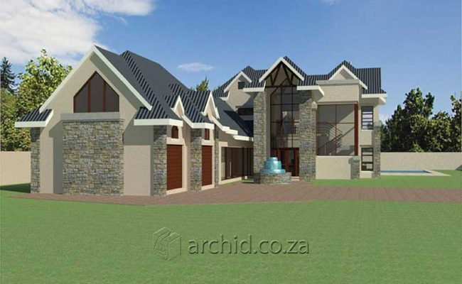 4 Bedroom House Plans South Africa – Architects in South Africa- Archid_80