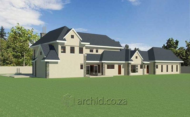 4 Bedroom House Plans South Africa – Architects in South Africa- Archid_81