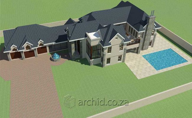 4 Bedroom House Plans South Africa – Architects in South Africa- Archid_82
