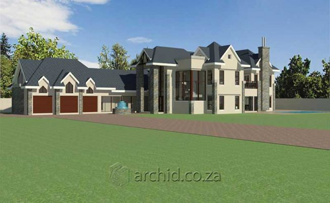 4 Bedroom House Plans South Africa – Architects in South Africa- Archid_83