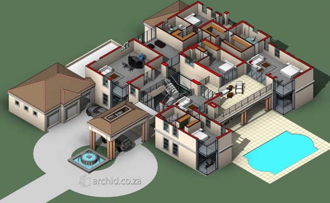 5 Bedroom House Plans South Africa – Architects in Africa- Archid_67