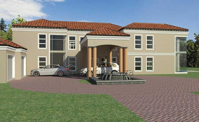 5 Bedroom House Plans South Africa – Architects in Africa- Archid_68