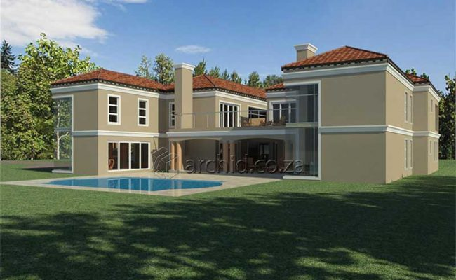 5 Bedroom House Plans South Africa – Architects in Africa- Archid_69
