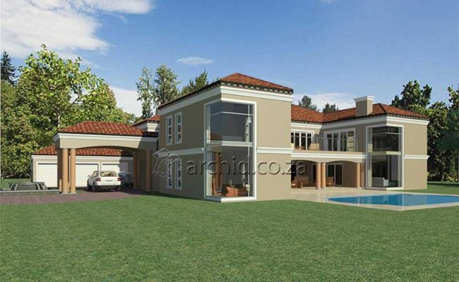 5 Bedroom House Plans South Africa – Architects in Africa- Archid_70