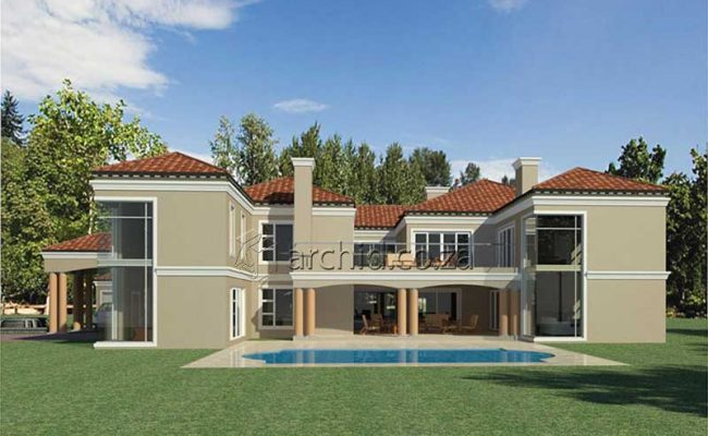 5 Bedroom House Plans South Africa – Architects in Africa- Archid_72