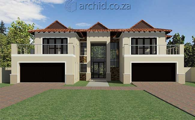 5 Bedroom House Plans South Africa – Modern 5 bedroom double storey house plans- Archid -27