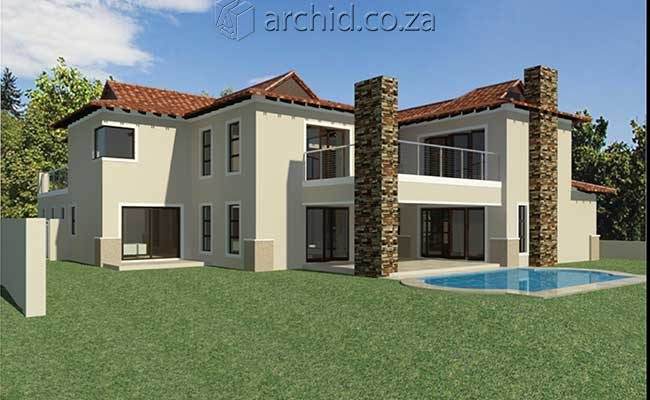 5 Bedroom House Plans South Africa – Modern 5 bedroom double storey house plans- Archid -28