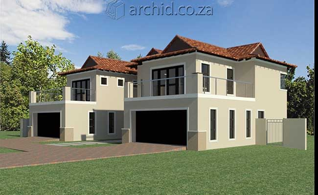 5 Bedroom House Plans South Africa – Modern 5 bedroom double storey house plans- Archid -29