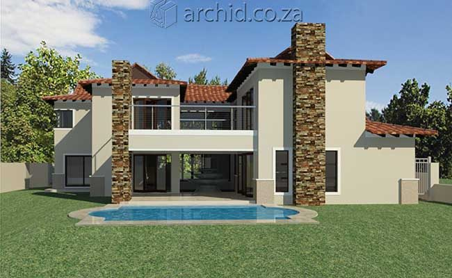 5 Bedroom House Plans South Africa – Modern 5 bedroom double storey house plans- Archid -30