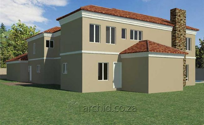 5 Bedroom House Plans Tuscan House Design – Architects in South Africa- Archid_57