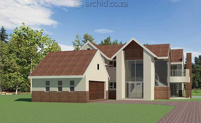 Architects in Africa 4 Bedroom Modern House Plan Designs_Archid South Africa09