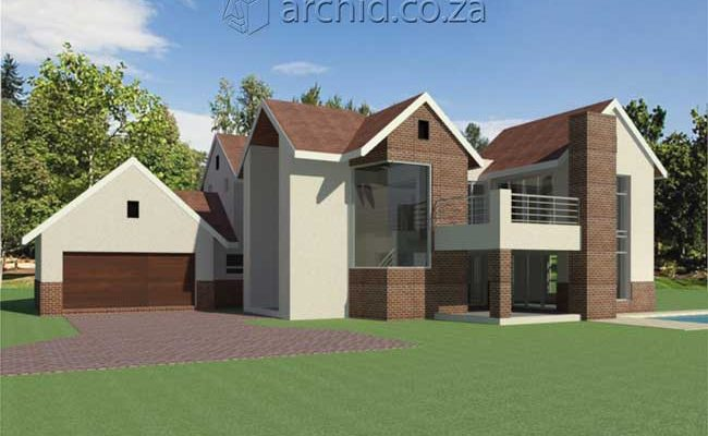 Architects in Africa 4 Bedroom Modern House Plan Designs_Archid South Africa13