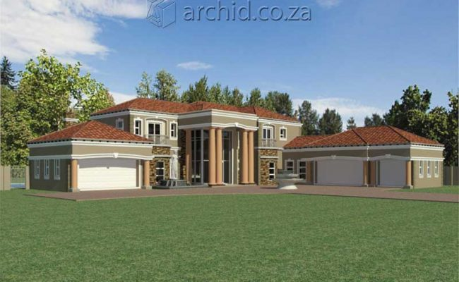 Architects in Africa 5 Bedroom Luxury House Plan Designs_ArchidSouth Africa14