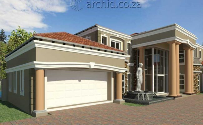 Architects in Africa 5 Bedroom Luxury House Plan Designs_ArchidSouth Africa17