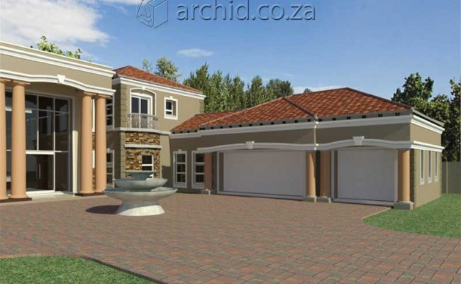 Architects in Africa 5 Bedroom Luxury House Plan Designs_ArchidSouth Africa18