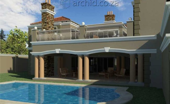 Architects in Africa 5 Bedroom Luxury House Plan Designs_ArchidSouth Africa19