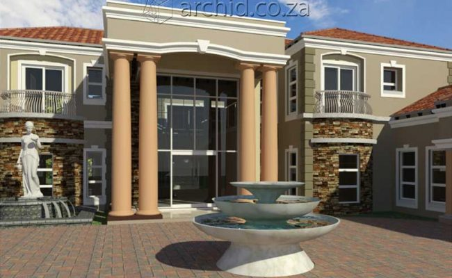 Architects in Africa 5 Bedroom Luxury House Plan Designs_ArchidSouth Africa20