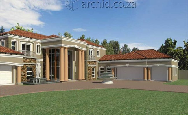 Architects in Africa 5 Bedroom Luxury House Plan Designs_ArchidSouth Africa21