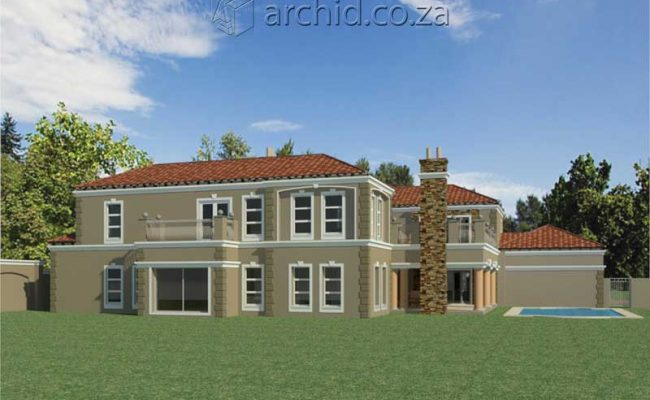 Architects in Africa 5 Bedroom Luxury House Plan Designs_ArchidSouth Africa22