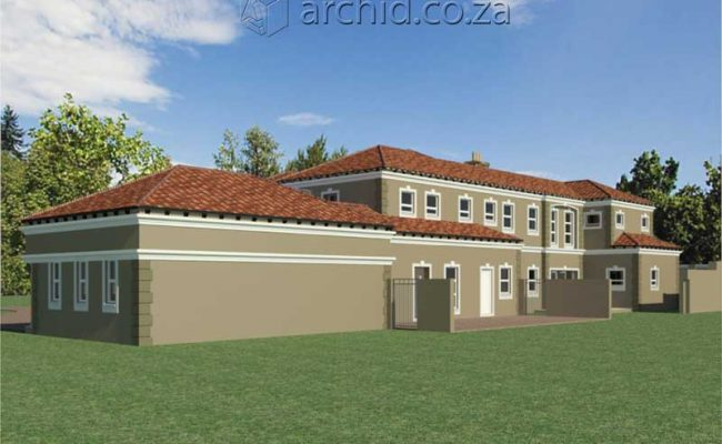 Architects in Africa 5 Bedroom Luxury House Plan Designs_ArchidSouth Africa23