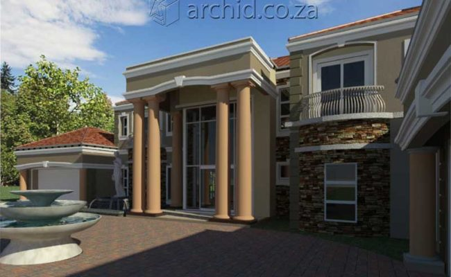 Architects in Africa 5 Bedroom Luxury House Plan Designs_ArchidSouth Africa24
