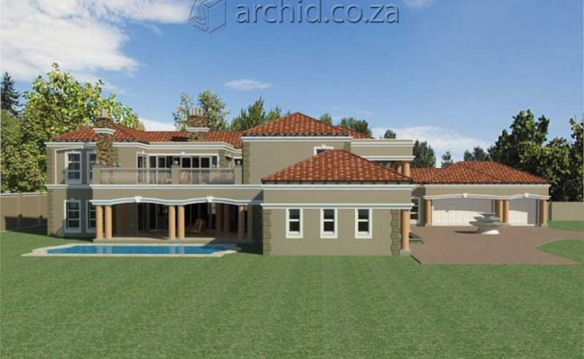 Architects in Africa 5 Bedroom Luxury House Plan Designs_ArchidSouth Africa25