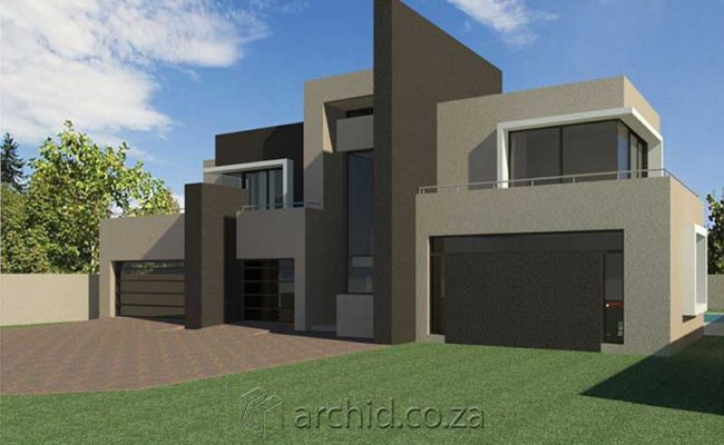 Architects in South Africa 4 Bedroom modern contemporary House Plan Designs_Archid_Modern House Plans_42