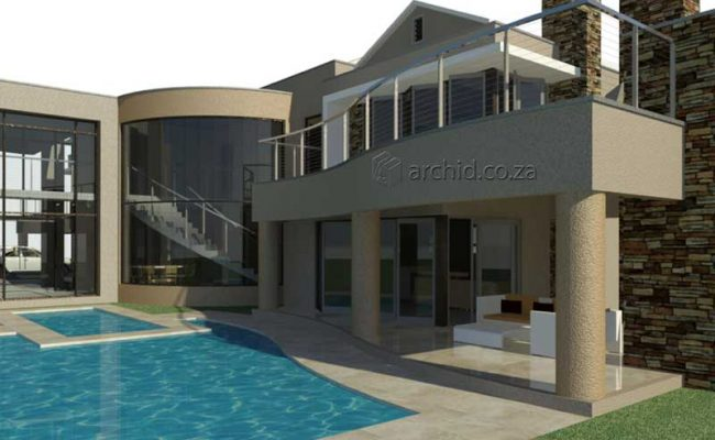 Architects in South Africa 5 Bedroom Contemporary House Plan Designs_Archid_Modern House Plans_28