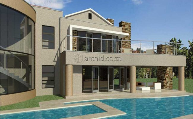 Architects in South Africa 5 Bedroom Contemporary House Plan Designs_Archid_Modern House Plans_29