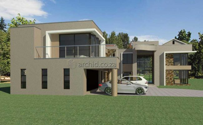 Architects in South Africa 5 Bedroom Contemporary House Plan Designs_Archid_Modern House Plans_30