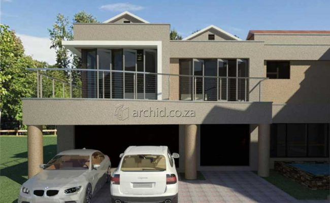 Architects in South Africa 5 Bedroom Contemporary House Plan Designs_Archid_Modern House Plans_31